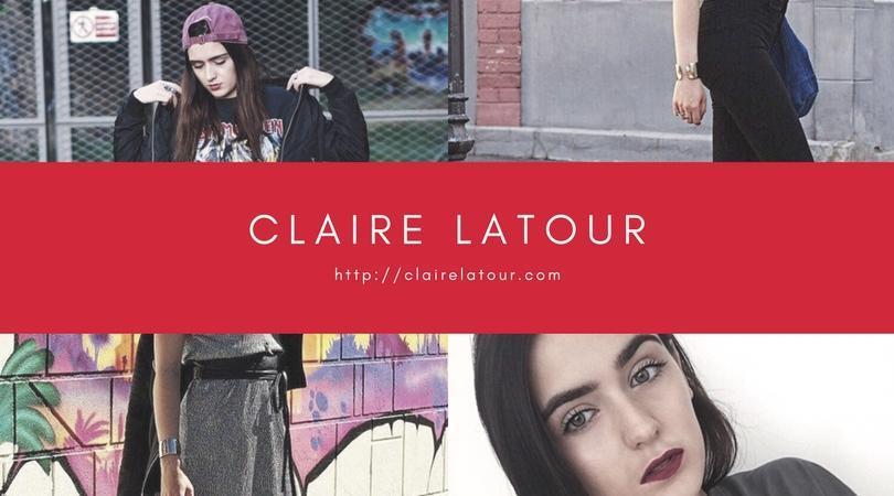 """Découvrez notre influenceur de la semaine : """"Claire Latour"""""""