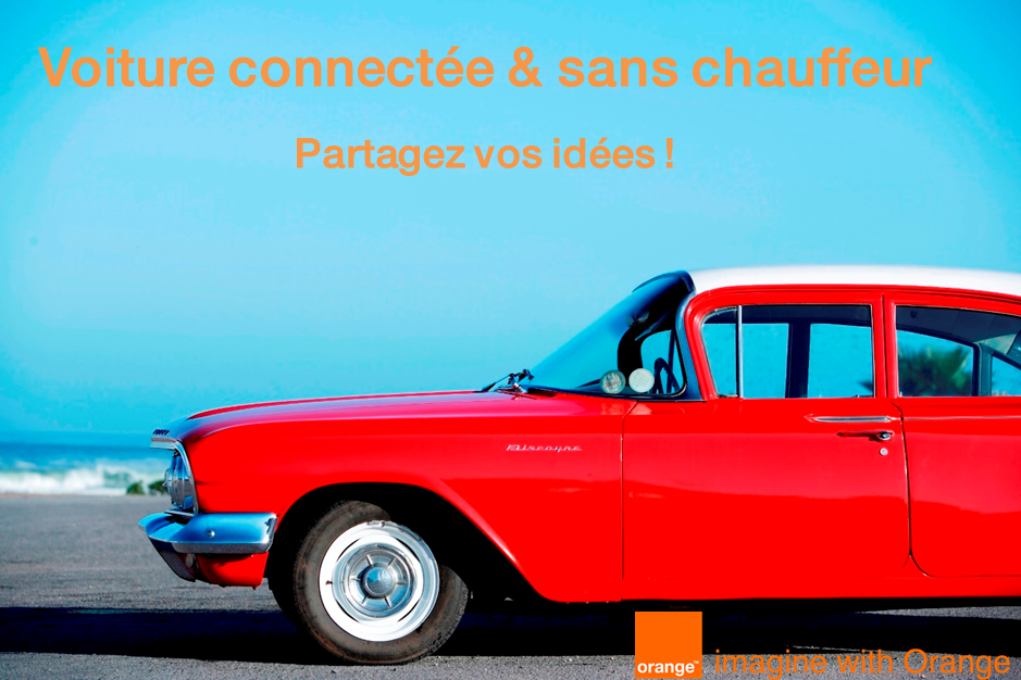 Campagne influenceurs Orange Smartcar