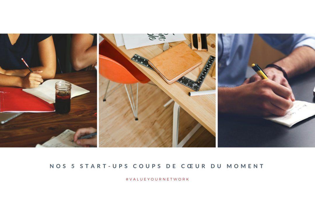 Zoom sur : 5 start-ups à connaitre !