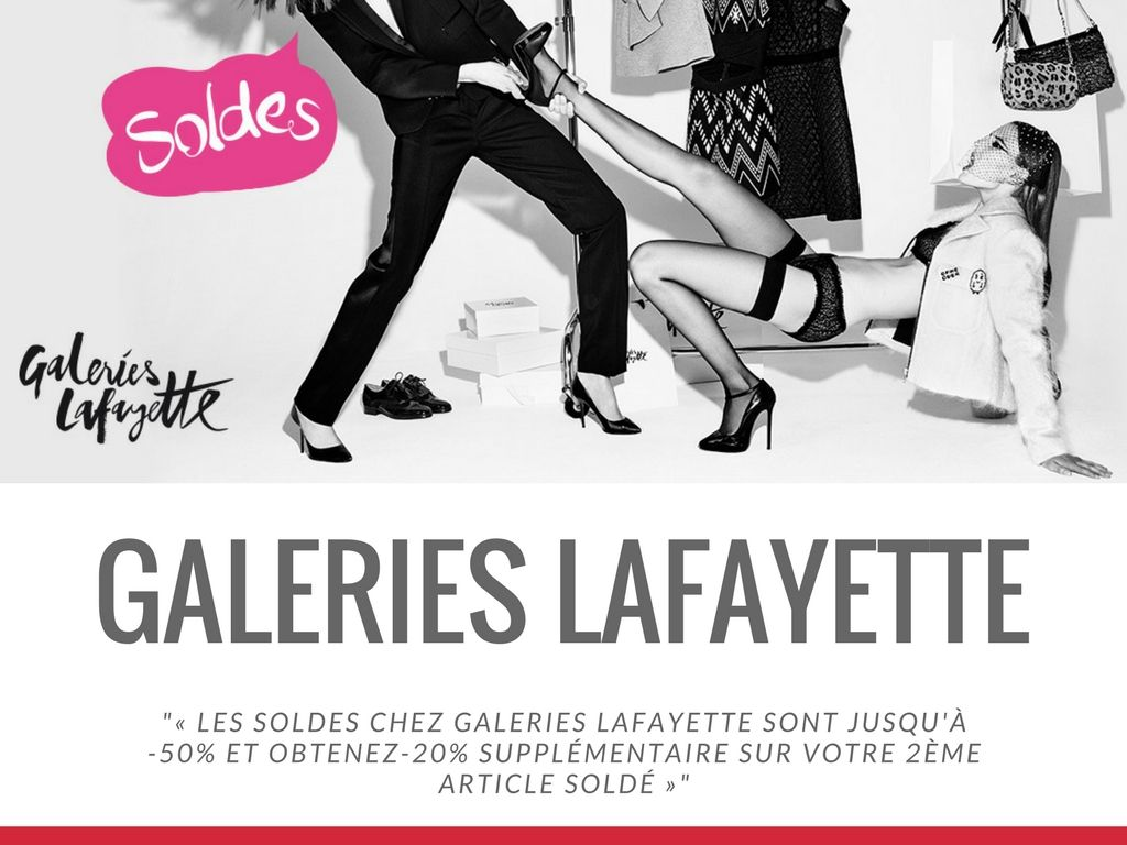 Campagne Galerie Lafayette Value Your Network