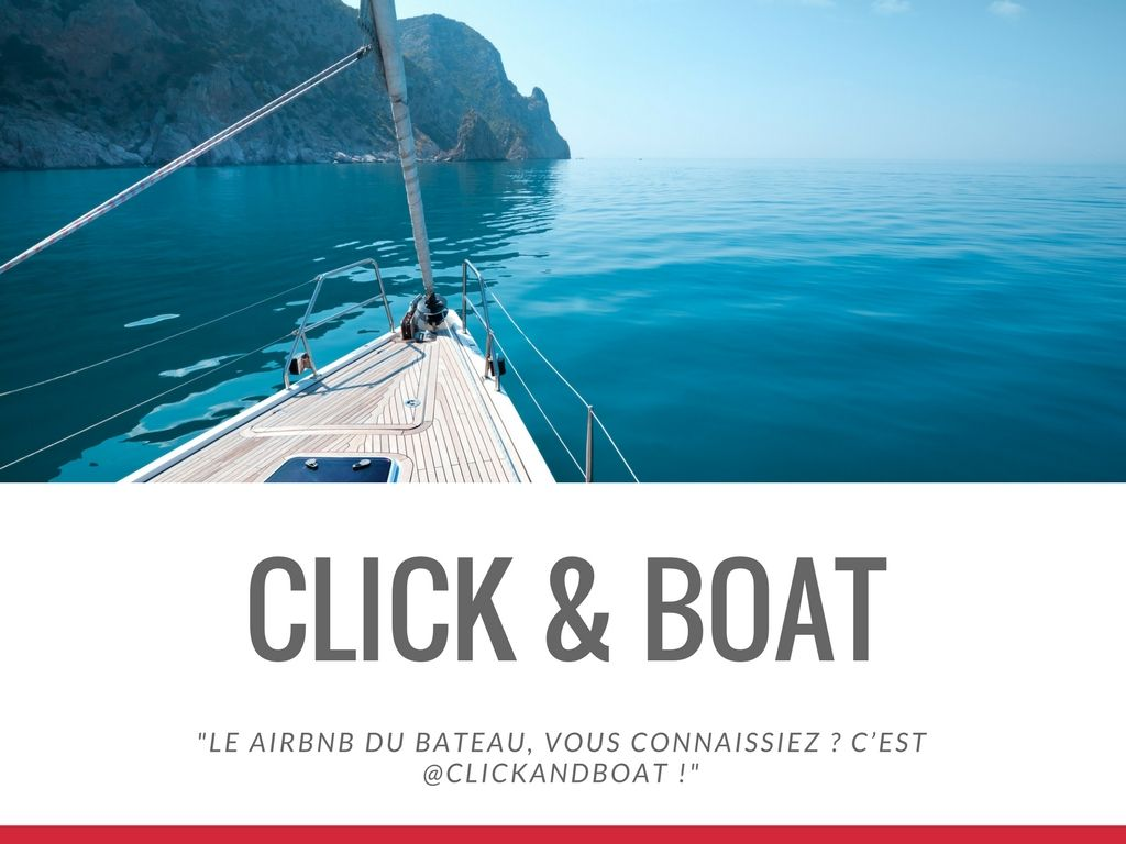 Campagne Click & boat Value Your Network