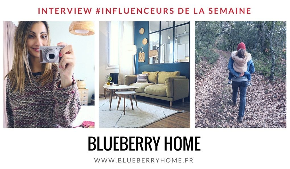 Blueberry Home influenceur decoration design