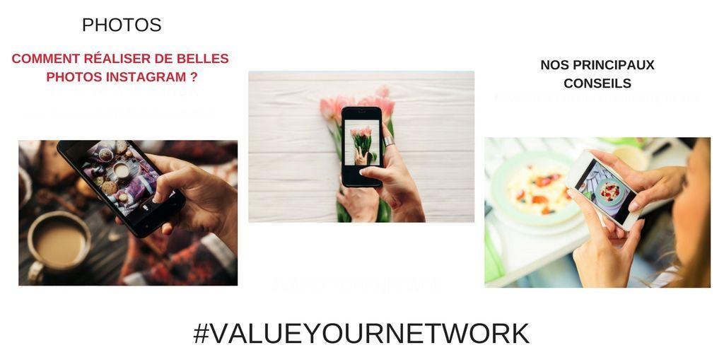Comment réussir vos photos instagram ?
