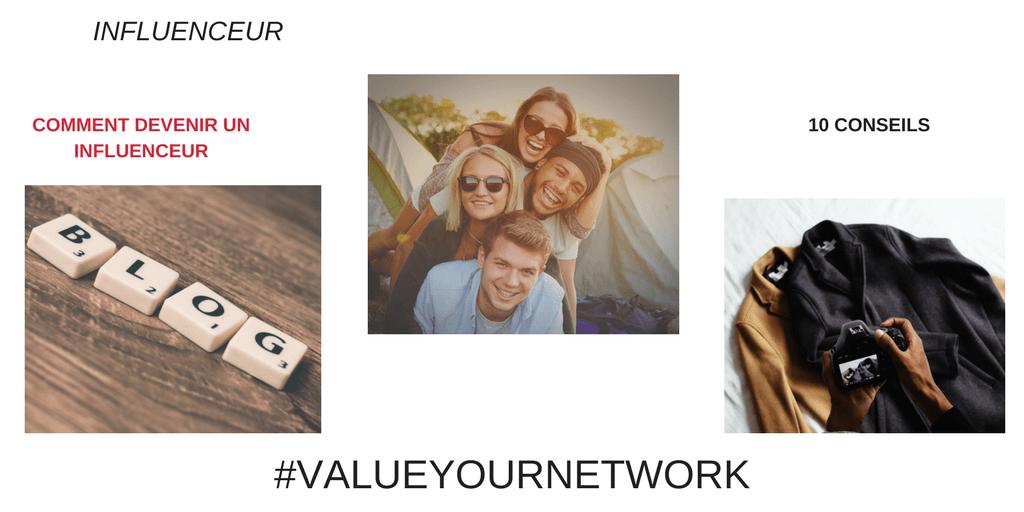 10 Conseils pour devenir un influenceur ou une influenceuse