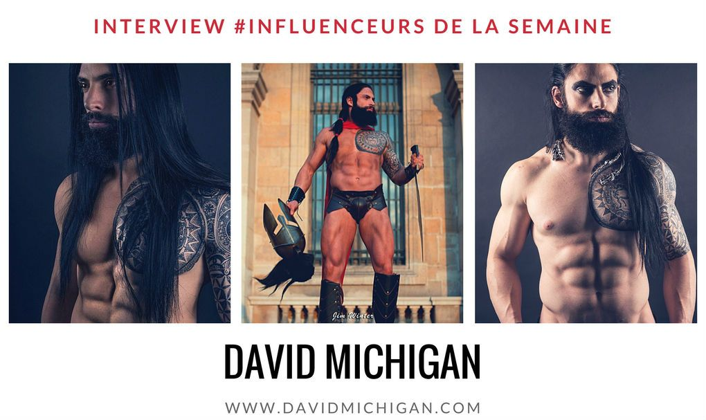 David Michigan l'influenceur blogueur fitness