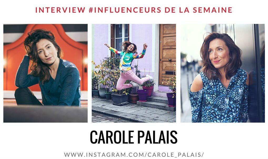 CAROLE PALAIS influenceuse comédienne passionnée par la mode la photo le sport