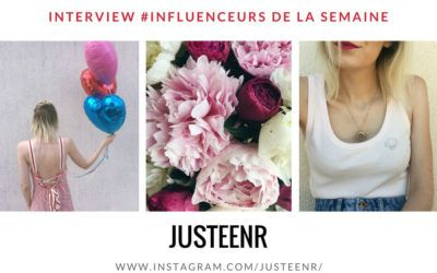 JUSTEENR influenceuse fashion mode