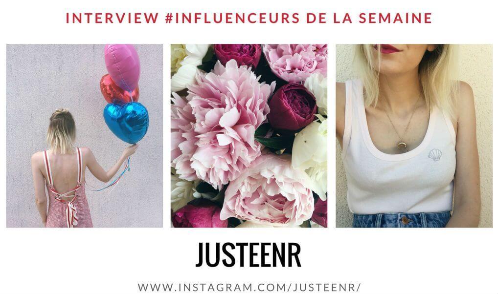JUSTEENR influenceuse fashion mode