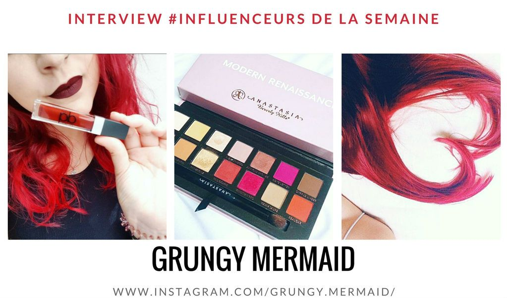 GRUNGY MERMAID influenceuse Fashion blogger
