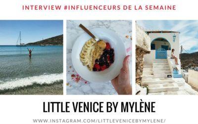 """Découvrez notre influenceuse fitness de la semaine : """" LITTLE VENICE BY MYLÈNE"""" !"""