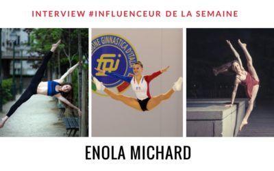 Enola Michard influenceur danse gymnastique