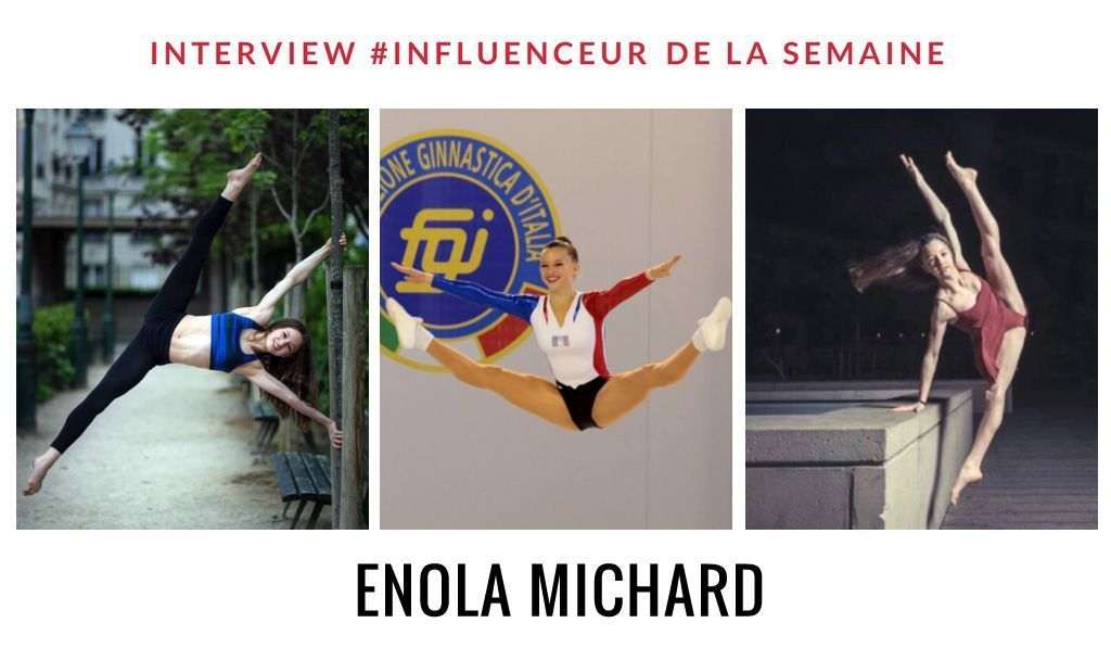 Enola Michard influenceur danse gymnastique