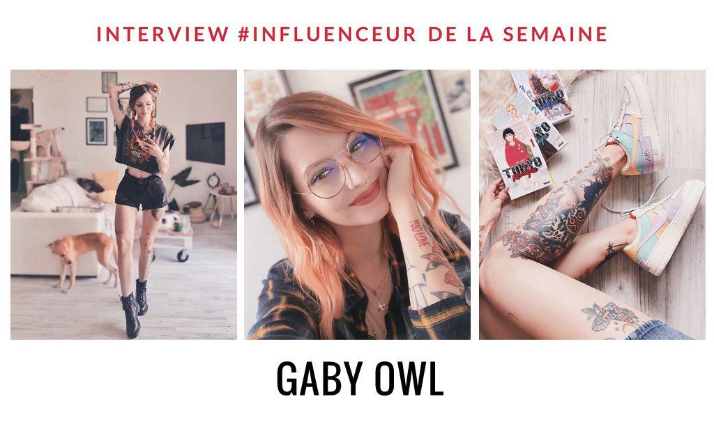 Gaby Owl influenceuse mode et beauté passionnée de photographie