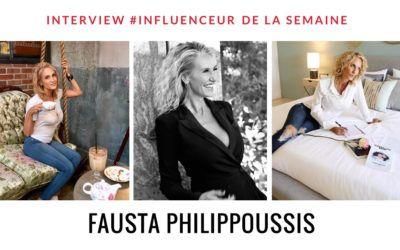 Fausta Philippoussis influenceur fashion lifestyle