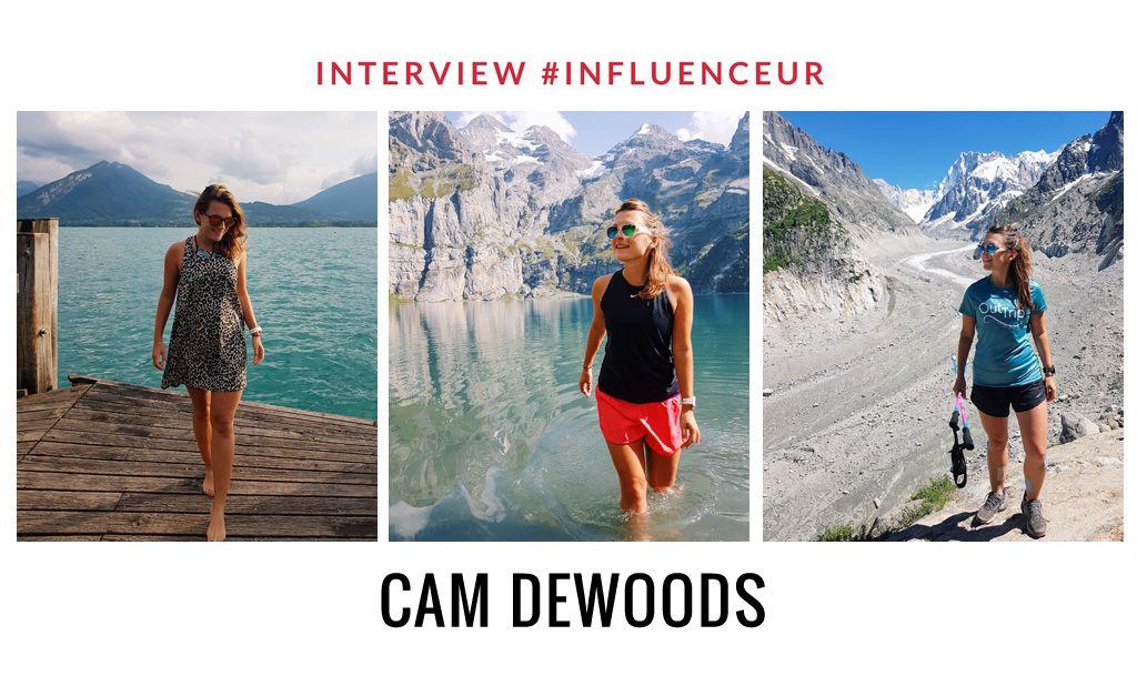 Cam Dewoods influenceuse sport outdoor