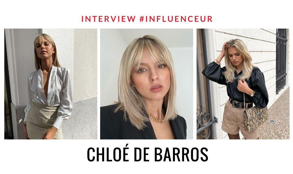 Chloé De Barros influenceuse mode et beauté