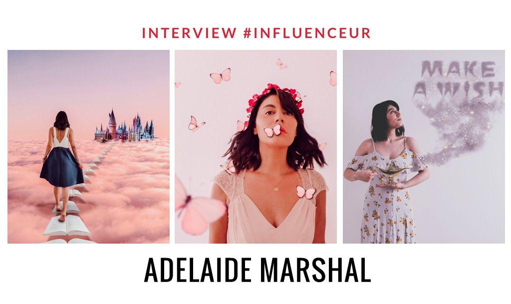 Adelaide Marshal créatrice de contenu créatif et magique