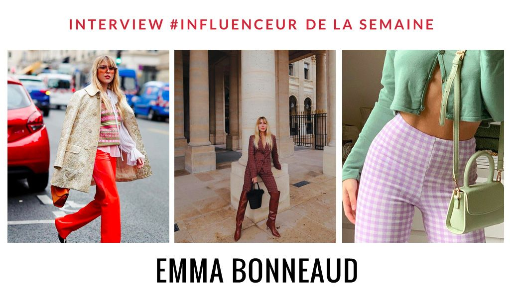 Emma Bonneaud influenceur mode