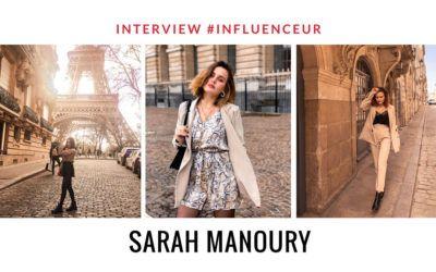 Sarah Manoury influenceuse fashion lover