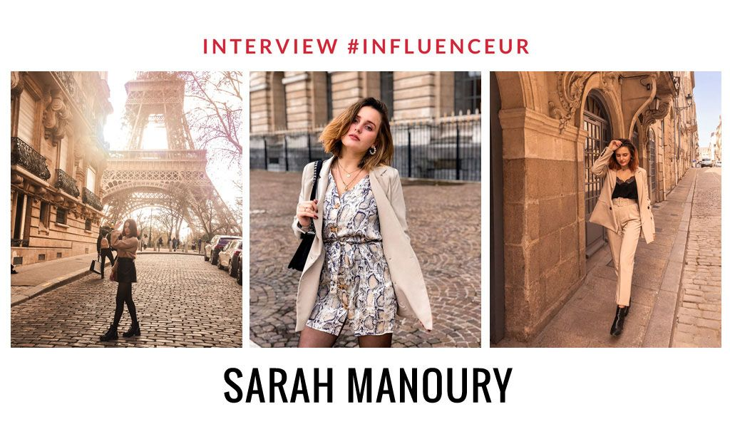 Sarah Manoury influenceuse fashion lover