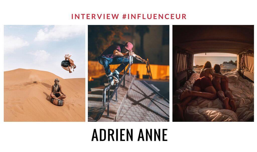 Adrien Anne influenceur voyage et sports extrêmes