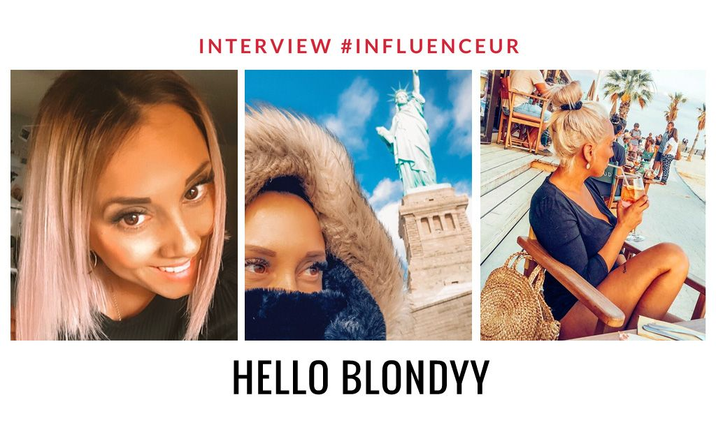 Hello Blondyy influenceuse voyages et mode