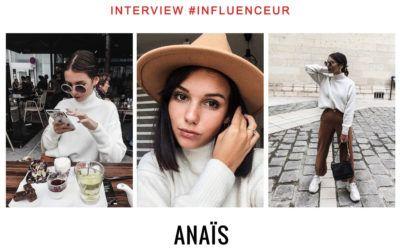 Anaïs influenceuse instagram mode et beauté