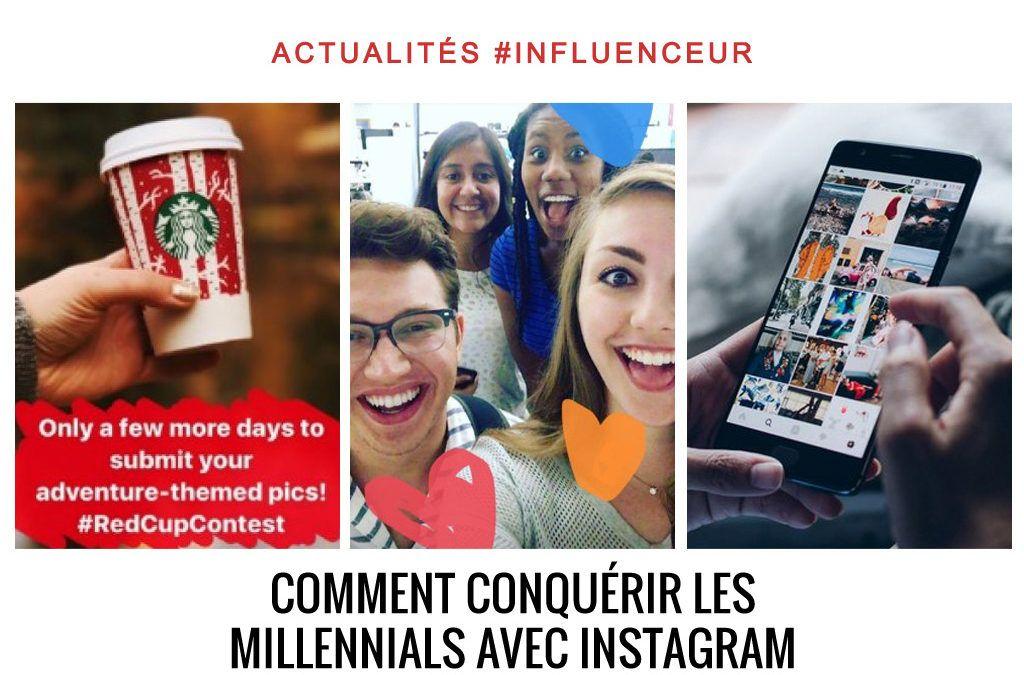 Comment conquérir les Millennials avec instagram ?