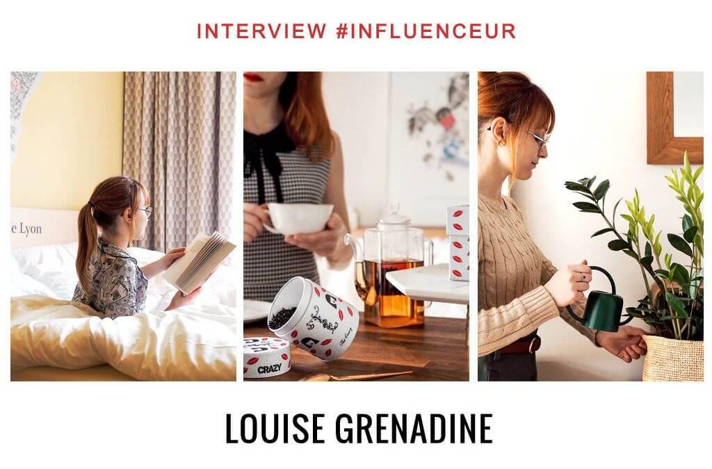 Louise Grenadine influenceuse instagram lifestyle