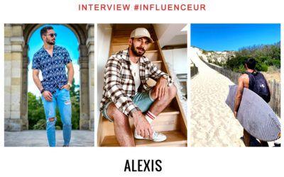 Alexis O influenceur modèle lifestyle et sport
