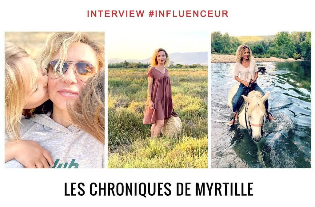 Les chroniques de Myrtille influenceuse lifestyle et kids