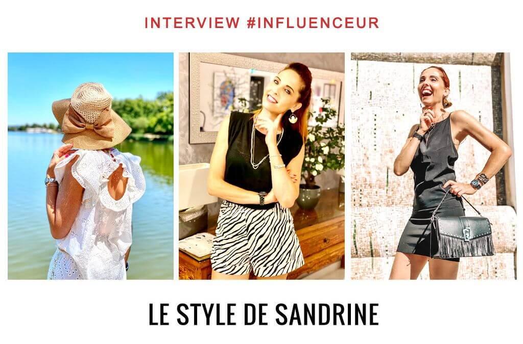 Le style de Sandrine influenceuse lifestyle, mode et voyages