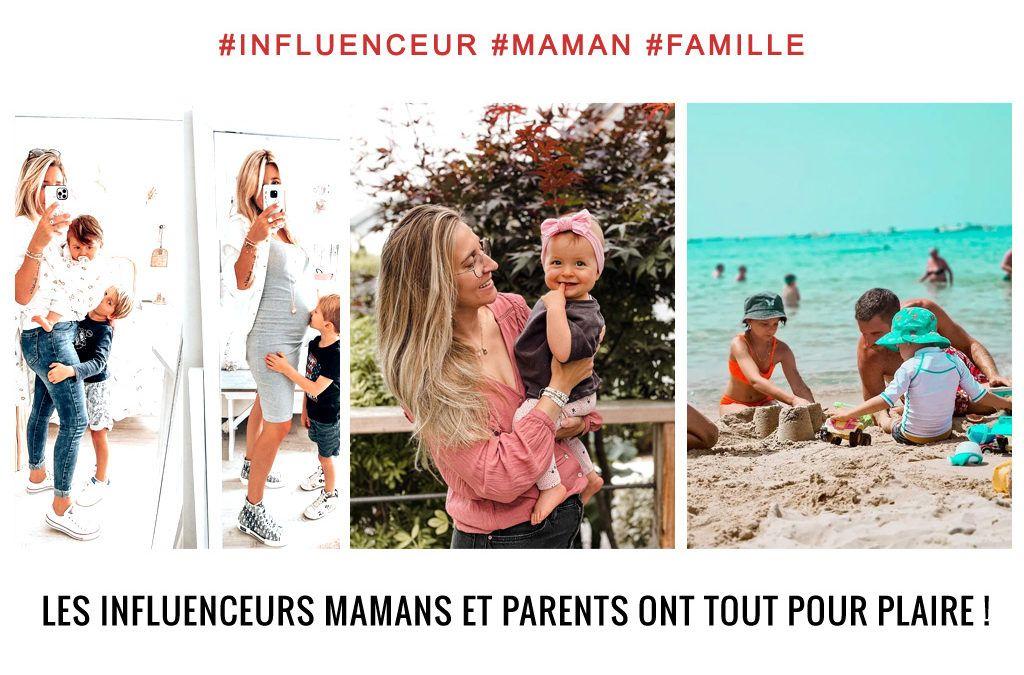 influenceurs maman et famille sur instagram et facebook