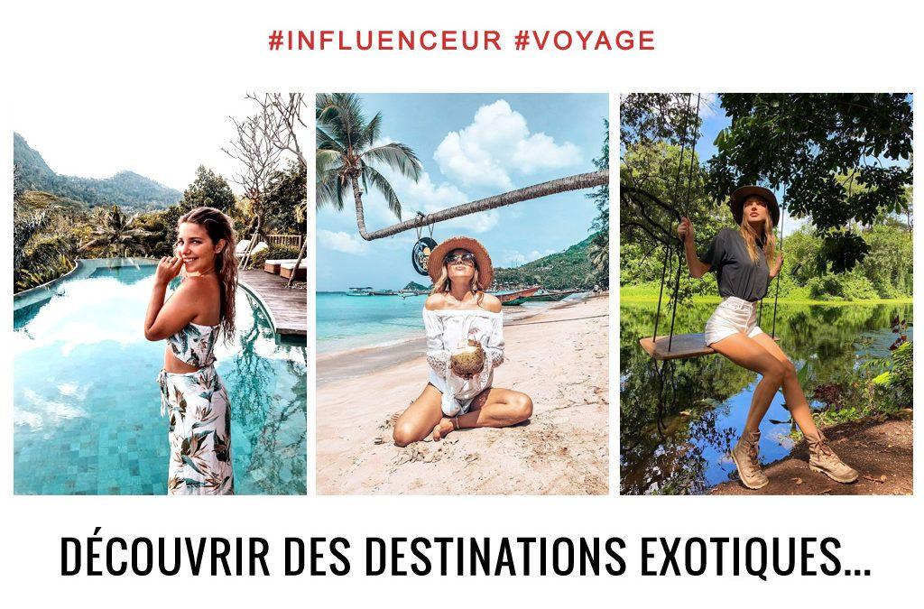 influenceurs voyage instagram de plus en plus présents