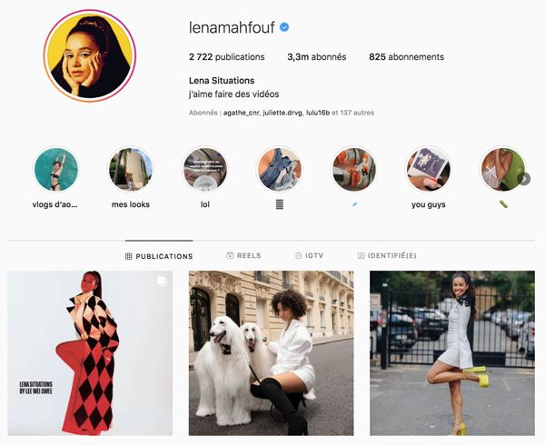 Lena Situations top influenceurs france
