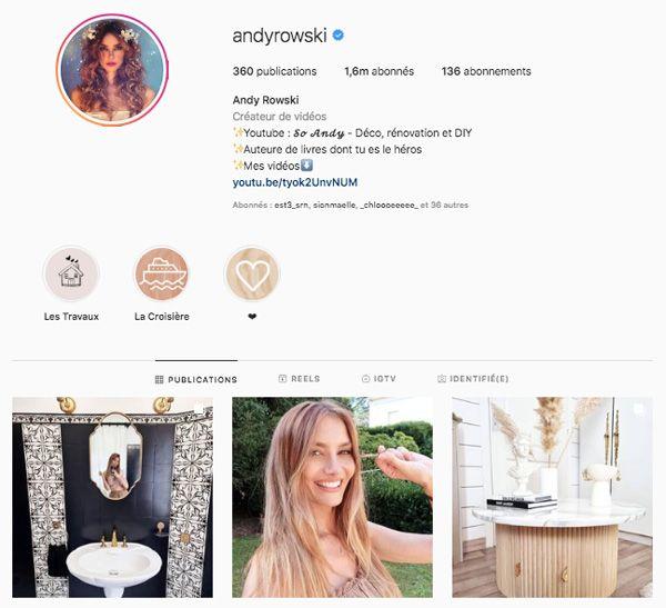 andyrowski top influenceurs france